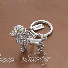 (0609317) 2011 new fashion popular crystal key chain