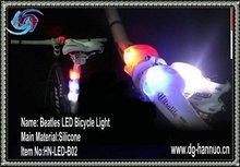 Bike alarm light,led helmet light,bicycle flashlight mount(FACTIRY PRICE)