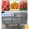 Automatic frozen meat cube cutting machine, frozen chicken meat dicing machine, frozen meat dicer machine