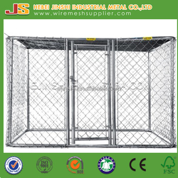Factory Outdoor large chain link Dog kennel for hot sale