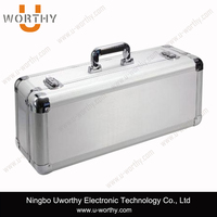 2015 hot sale promotional hand carrying tool storage case aluminum tool box with custom dimension