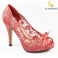 FLAMINGO 2015 LATEST ODM OEM pictures sex women high heels platform shoes