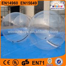 popular y caliente venta de tpu y pvc de agua caminando las bolas para la venta