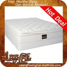luxurious hotel box spring soft hotel mattress