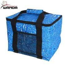 Custom Printing Cooling Portable Aluminium Foil Cooler Bag