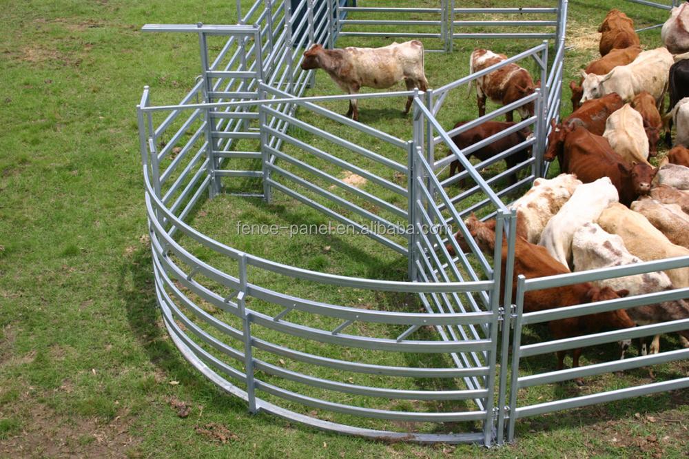 Hot Sale Galvanized Metal Farm Gates Factory Iso9001