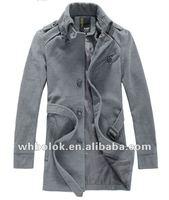 New style russian wool coat long wool casual coat