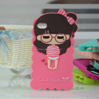 clear cell phone covers cartoon character cell phone case for iphone