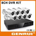 H.264 960h 8 canal diy cctv kit dvr