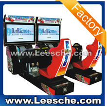 2015 LSRM-003 3D Outrun 32LCD (double) 2 player car racing game machine electronic arcade games car race game