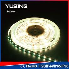 Factory supply 60 leds per meter strip light plastic channel