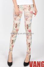 Novo mulheres meias calças justas brilhantes ballet legging bebê apertados tribal imprimir