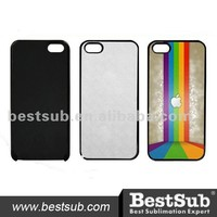 Black or Customized Color Plastic Cell Phone Sublimation Case for iPhone 5