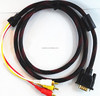 High Quality vga to rca x 3 cable/VGA to RCA cable/av,rca cable