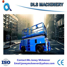 self-propelled scissor lift Convenience Four wheels Aerial Lift Table
