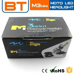 Wholesale H6 H4 PH7 PH8 2000lm 1200lm M3 Mini Motorcycle Led Lights
