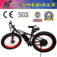 fat tyre bike electric off-road e-bike 26*4.0 tire