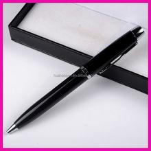2014 Hot selling metal pen pocket clips promotional metal pen with logo