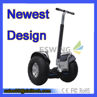 2015 Elegent Design GPS Eswing Newest Duel Wheel Off Road Scooter ES6 With Bluetooth electric chariot
