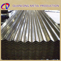 Z180 DX51D Hot Dip Corrugated Galvanized Iron Roof Sheet