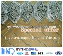 manufacturer price and high quanlity chain link fence