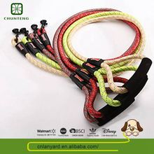 Pet Product Supplies Various Designs Available Delicate Full Color Leather Dog Leash Braided