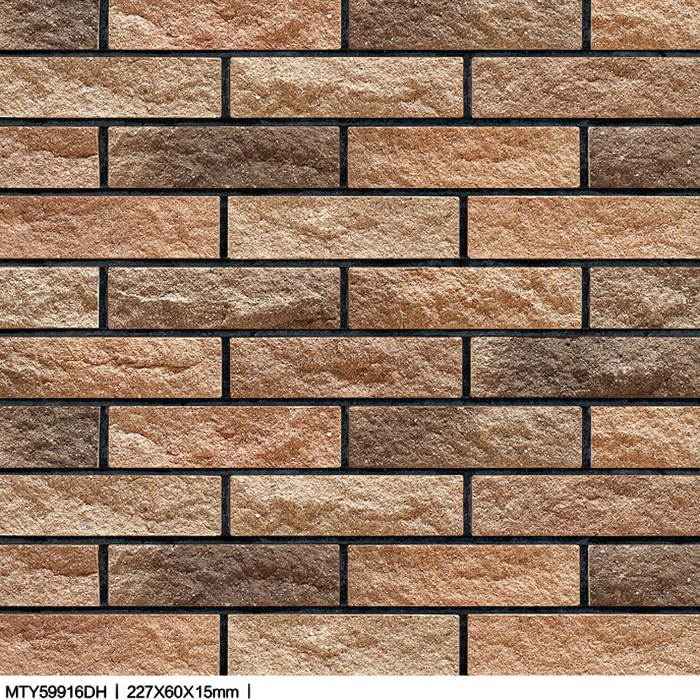 3d Marble Stone Design Xiahui Split Rock Exterior Glazed Wall Tiles