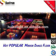 2015 Popular America 3D full color rental led dance floor display