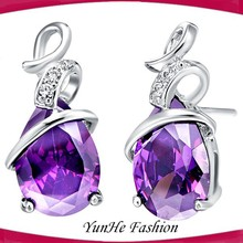 Famous brand 925 sterling silver earrings designs silver jewelry wholesale earring