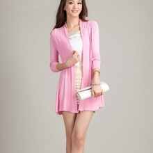 NZ4445 hot selling fashion design long women knitwears