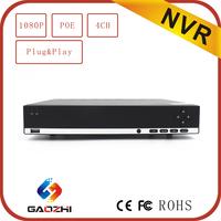 Onvif P2P 4ch 1080p video recorder H 264 Cctv dvr