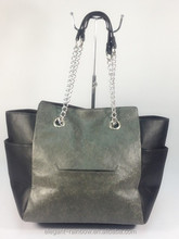 Tote bag with chain handle