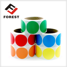 Cosmetics adhesive sticker, paper rolled label, printing color sticker