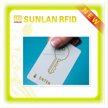 RFID Hotel Key Card / Magnetic Stripe Card Suitable for All Major Locking System