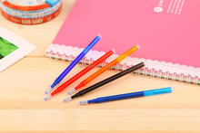 hot selling low price muti color erasable refill of pen,gel ink pen refill