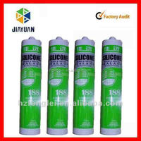 acetic silicone sealant for glass