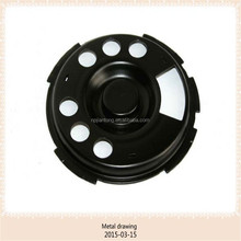500g metal deep drawing cover parts auto spare parts/motor cover