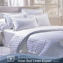 King duvet cover, bedsheet plain white hotel usage (SQNC201504142)