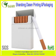 Bulk production paper cigarette box ,cigarette box packaging printing
