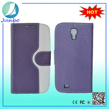 New arrival modest leather wallet flip case for samsung galaxy s4 active