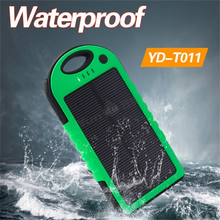 New promotional products 2015 Rechargeable universal battery solar charger for Android htc phones