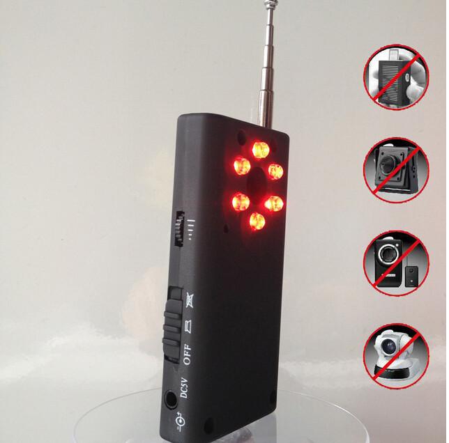 Детектор жучков и скрытых камер  CC308 . Купить по низкой цене. Бесплатная доставка!