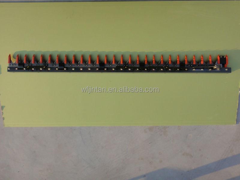 Barra de corte peças de reposição utilizadas new holland colheitadeira