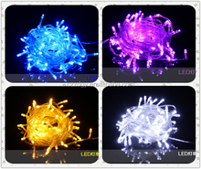 pure color healthy lighting copper PVC wire star shaped LED lights