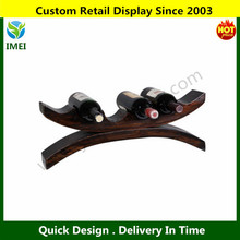 ARCHED WOOD WINE BOTTLE HOLDER YM6-288