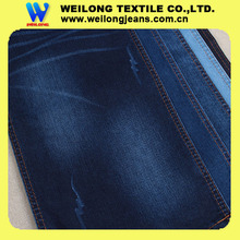 "B3064C 62/63"" heavy weight 11oz super dark blue carbon fiber denim fabric stock jeans jacket leather sleeves"