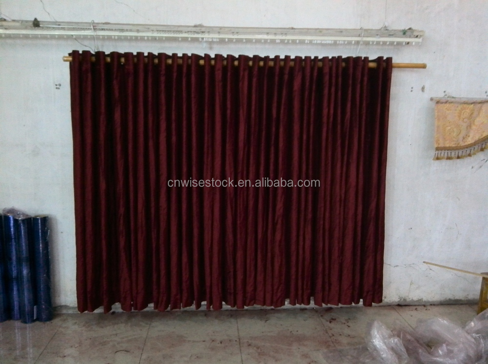 Decoration swags and curtains