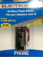 Cordless phone battery NIMH 2.4v AAA850mah battery pack with conector