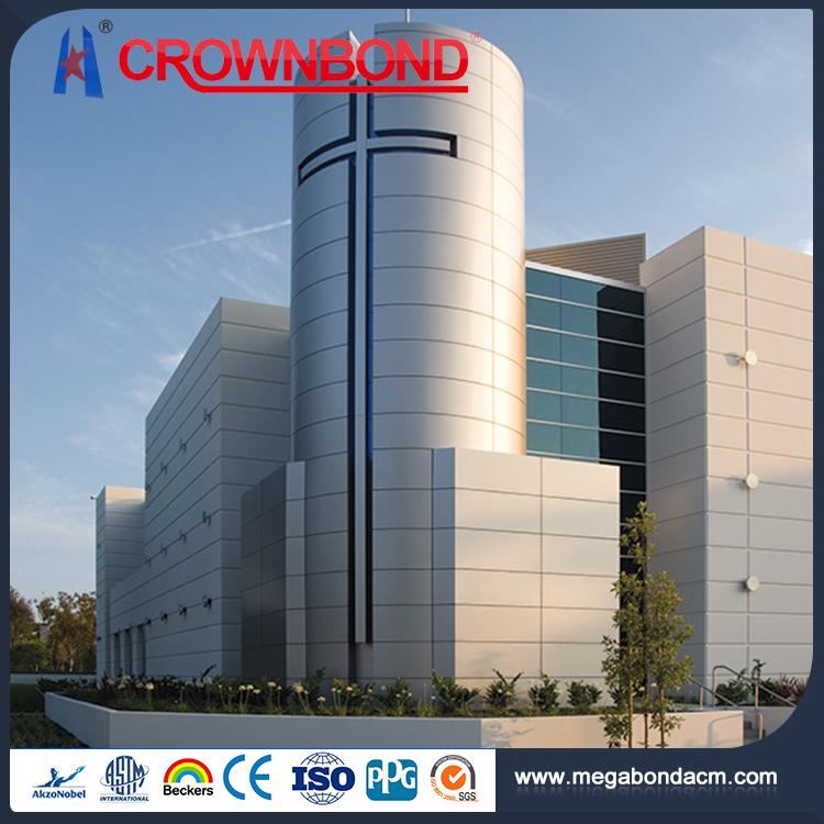 ACP yapı malzemesi dış duvar kaplama, acm cephe paneli dış duvar kaplama, alüminyum giydirme panelleri fasya panelleri