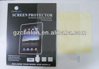For iPad 2 Clear Screen Protector With Retail Packing